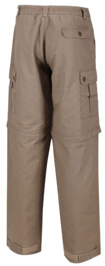 LAKSEN MENS Convertible 2in1 Zip OFF Walking Outdoor Trousers / SHORTS RRP £49